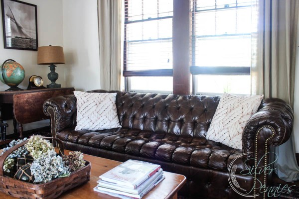 chesterfield living room my chesterfield sofa finding silver pennies 11008