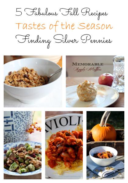 5 fabulous fall recipes title