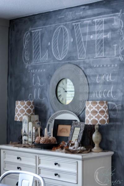 AKA Design Chalk Board Wall