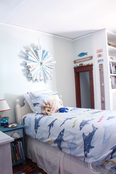Beach Inspired Bedroom