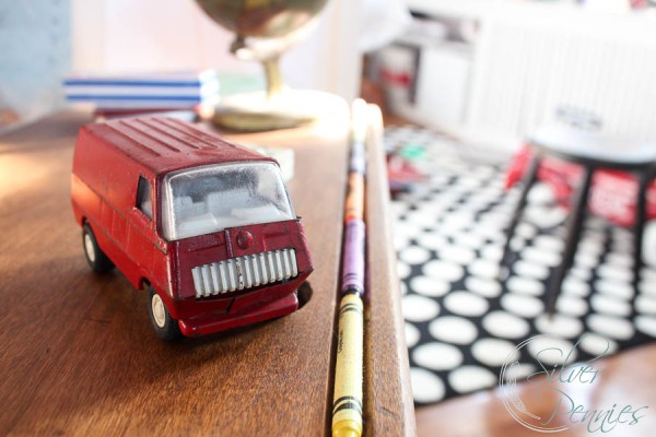 Crayola and Vintage Truck
