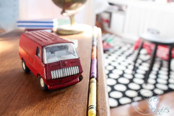 Crayola and Vintage Truck