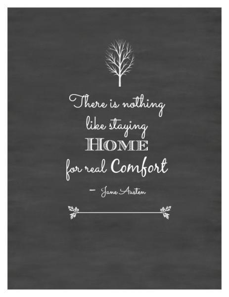 Jane Austen Quote Tree