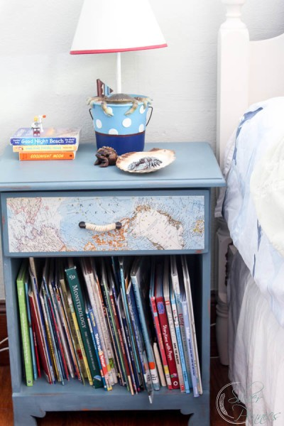 Nautical Bedside Table