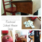 A School House Desk and The First Day of Kindergarten