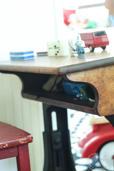 School House Desk Cubby