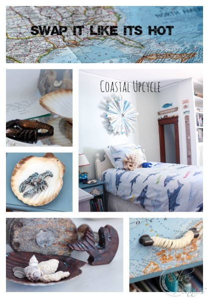 Swap It Like Its Hot Coastal Upcycle Title