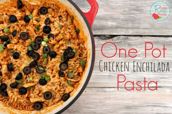 one-pot-chicken-enchilada-pasta-1