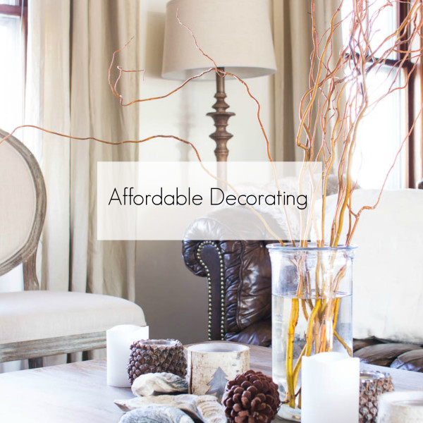 Affordable Decorating