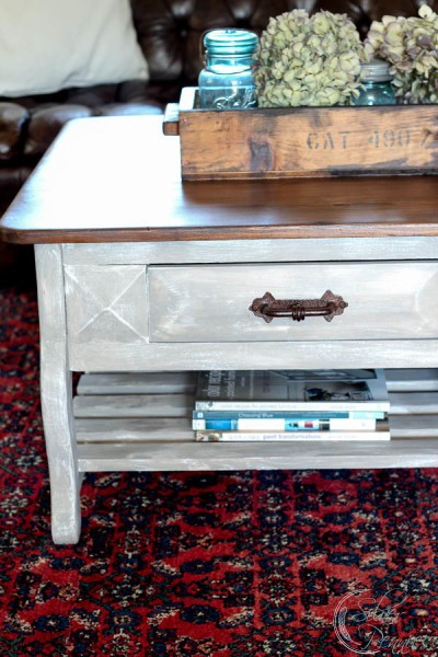 Chalk Paint and Industrial Crate