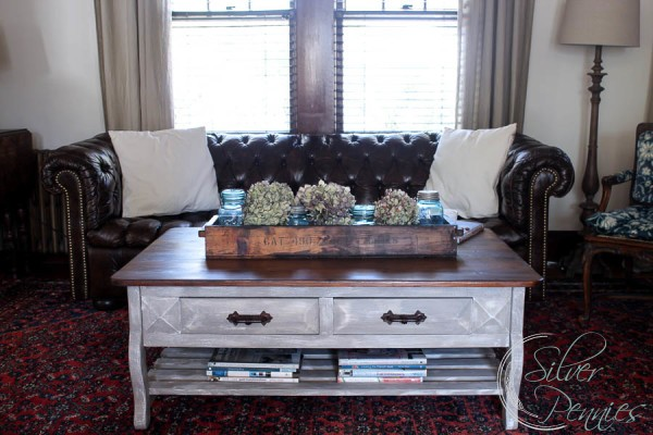 Superb Chesterfield And RH Inspired Coffee Table
