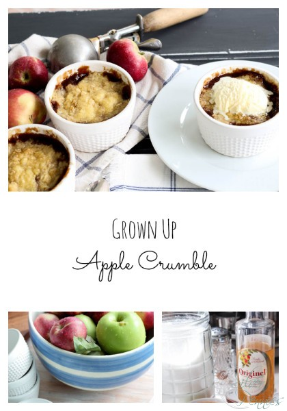 How to Collage Apple Crumble