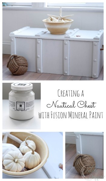 How to Create a Nautical Chest with Fusion Mineral Paint