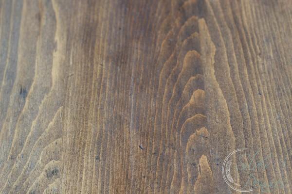 Minwax Stained Tabletop