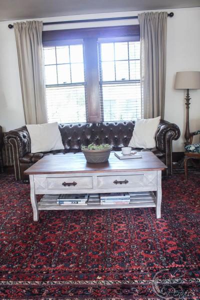RH Inspired Living Room