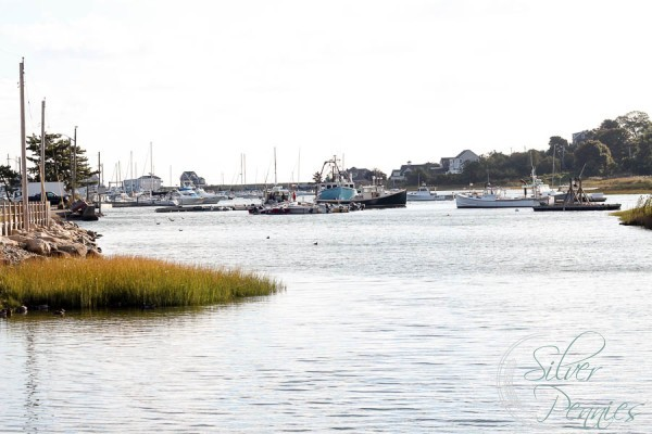 Scituate Harbor Fishing Boats