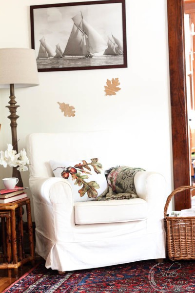 Simple Fall Living Room Ideas