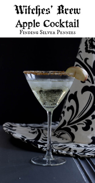 Witches Brew Easy Halloween Cocktail