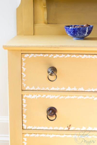 Drawers and Blue Bowl