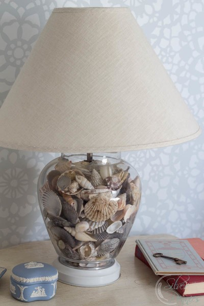 Lamp Filled with Shells