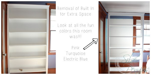 Removal of Book Shelf