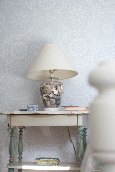 Shabby Chic Bedroom Bedside Table