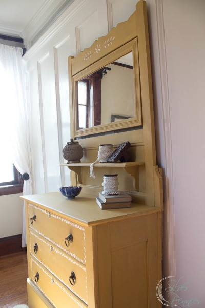 Side View Milk Paint Dresser