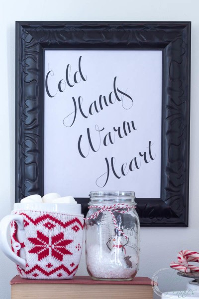 Cold Hands Warm Heart Printable