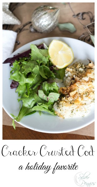 Cracker Crusted Cod Holiday Favorite