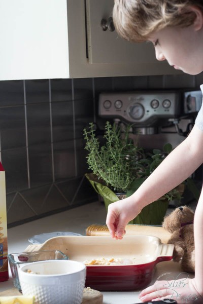 Crumb Crust and a little helper
