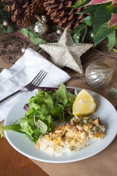 Delicious Holiday Fish Dinner