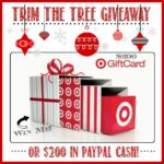 Trim the Tree Target Giveaway