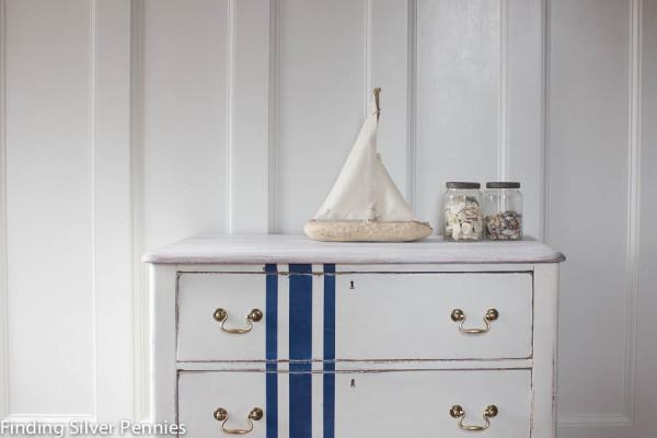 Chalk Paint Grain Sack Dresser
