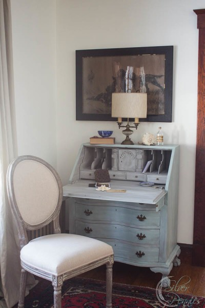 Chalk Paint desk and chair