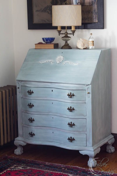 Duck Egg Blue Desk