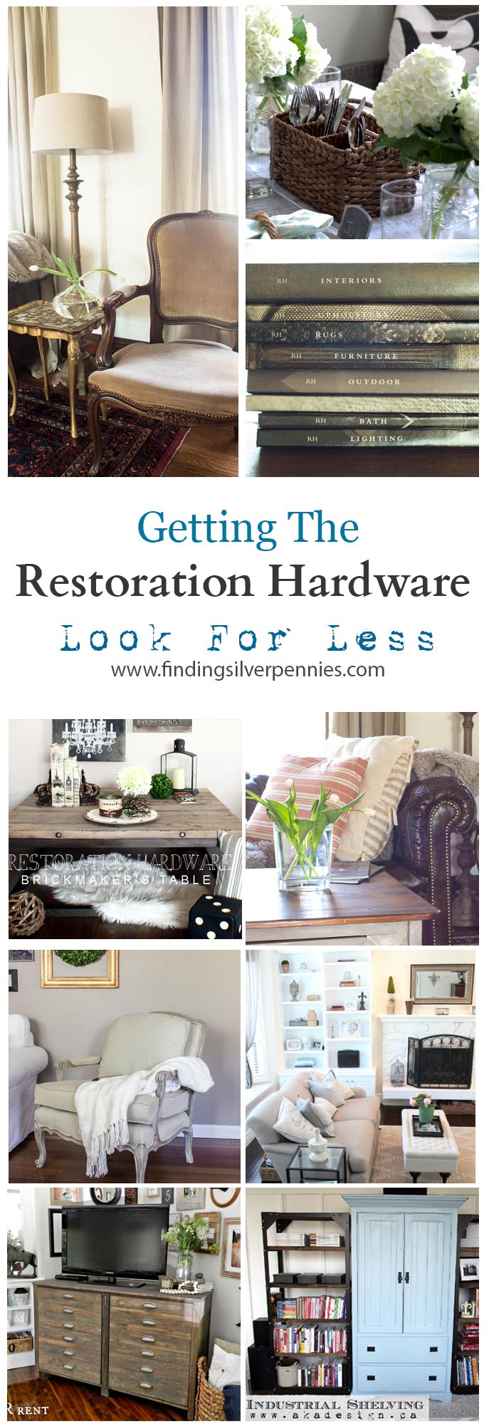 Restoration Hardware Look For Less