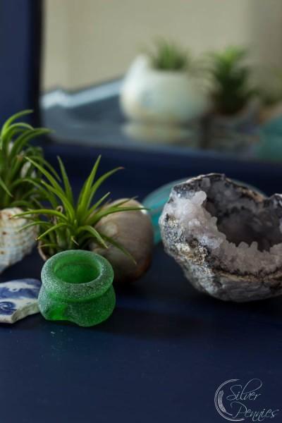 Sea Glass and Geode
