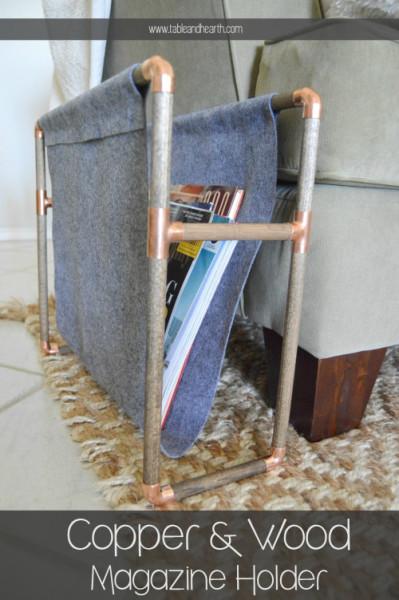 10-copper-magazine-holder