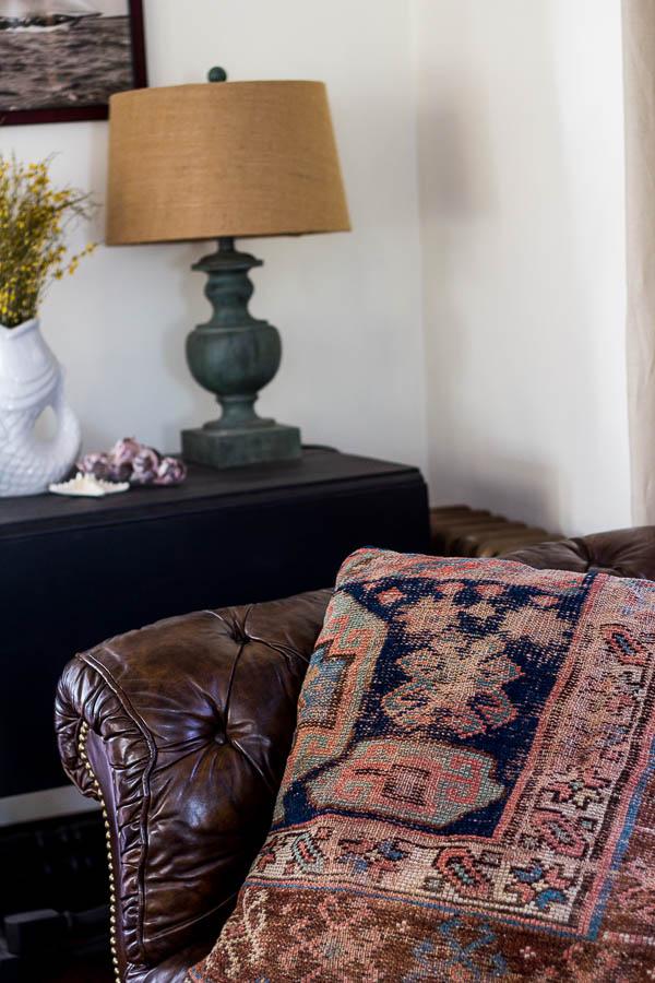 Oriental Rug Pillows Finding Silver Pennies