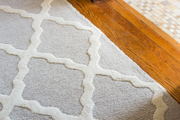 Close Up Morrocan Trellis Rug