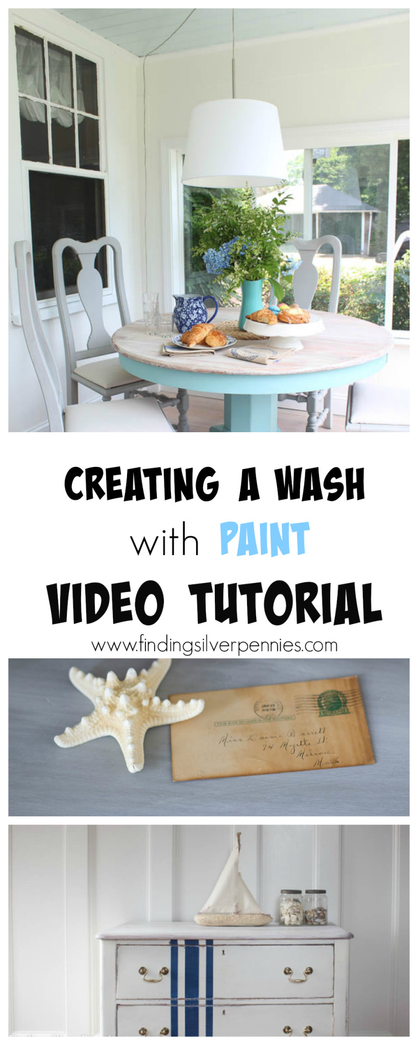 Creating A Wash with Paint