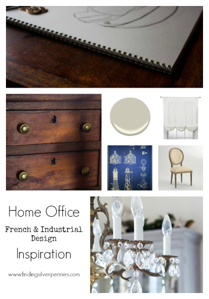 Home Office Inspiration Finding Silver Pennies