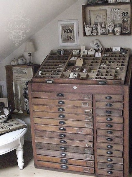 Printers Cabinet