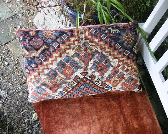 Travelling Light Oriental Rug Pillow