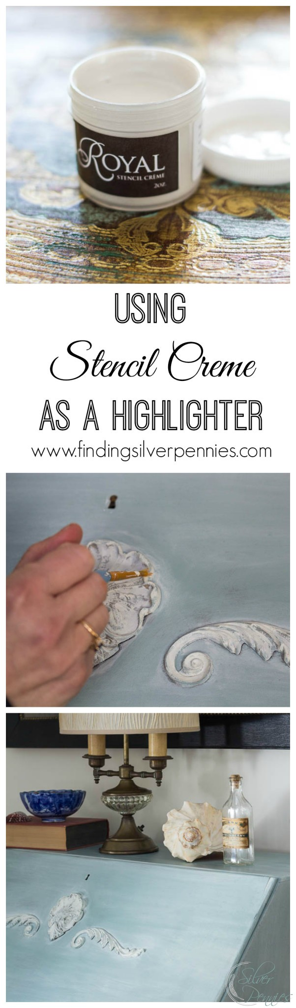 Using Stencil Creme as a Highlighter