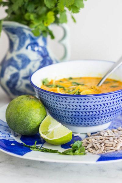 Paleo Coconut Chicken Soup