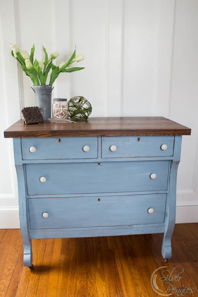 An Empire Dresser Named Lila by Finding Silver Pennies