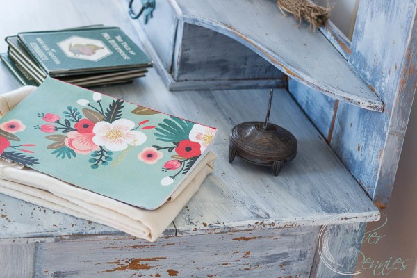Close Up Beatrix Pottery Books and Journal