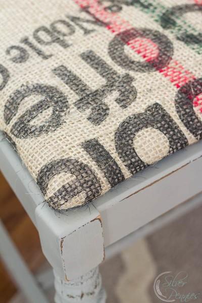 Close Up Coffee Sack Seat