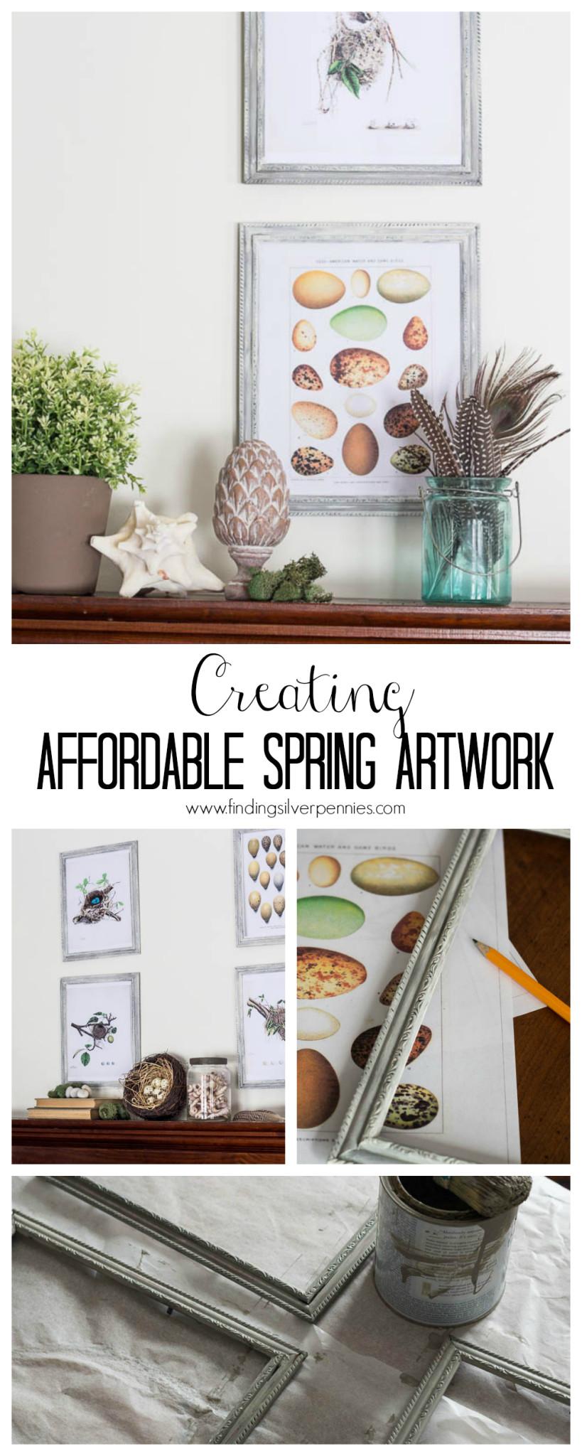 Creating Affordable Spring Artwork
